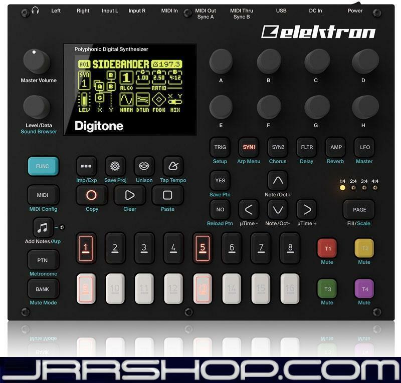 Elektron Digitone Polifoniche Digitale Sequencer Sintetizzatore Nuovo Jrr Shop