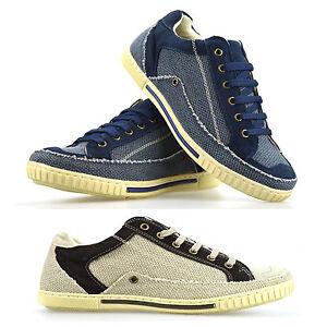 Para-Hombre-Caballero-Casual-Plana-Lace-Up-Lona-Skate-Bombas-plimsolls-Zapatillas-Zapatos-Tamano