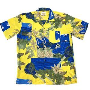 WIAKIKI-CREATIONS-Mens-Size-XXL-Hawaiian-Shirt