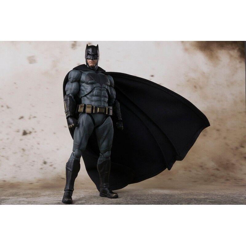 BANDAI TAMASHII S.H.Figuarts Justice League - Batman NUOVO