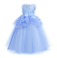 Kids-Flower-Girl-Bow-Princess-Dress-for-Girls-Party-Wedding-Bridesmaid-Gown-ZG9 thumbnail 22