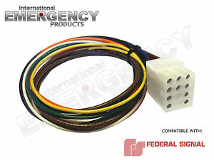 s l300 12 pin connector plug harness power cable for federal signal siren federal signal pa300 wiring harness at nearapp.co