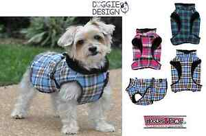 Doggie Design Chien Confortable Veste Manteau Réflecteur Fourrure Doublé Polaire