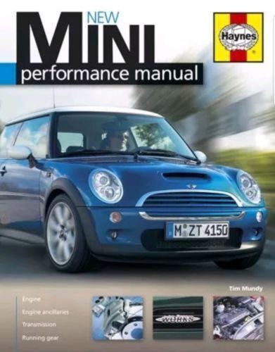 MINI MANUAL HAYNES ENGINE BODY PERFORMANCE RRP £19.95 Hardback Book