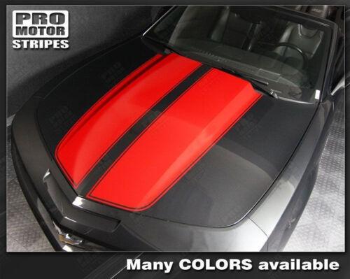 Chevrolet Camaro Convertible Rally Racing Stripes Decals 2010 2011 2012 2013