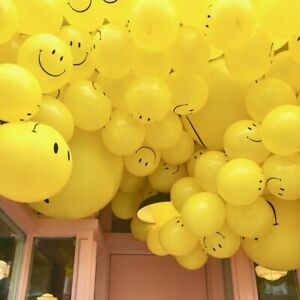 10-X12-034-SMILEY-YELLOW-LARGE-FACE-BALLOONS-LATEX-RUBBER-HELIUM-PARTY-BALLOON-GOOD