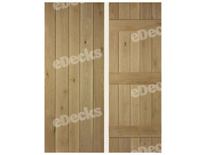 door v grooved white oak 40mm thick various sizes interior cheap
