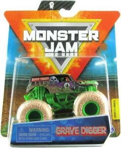 Hot-Wheels-Monster-Jam-Grave-Digger-2020-Truck-Driver-New