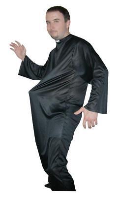Adult Vicar Costume Fancy Dress High School Fun Girl Fun Stag Night Priest