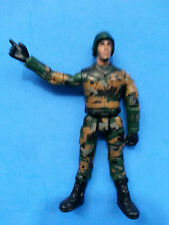 "Military Soldier in Cameo with Helmet 4"" Action Figure"