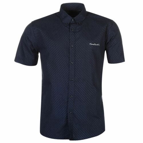 NEW Pierre Cardin Short Sleeve Shirt Mens S M L XL XXL 3XL  4XL 5XL