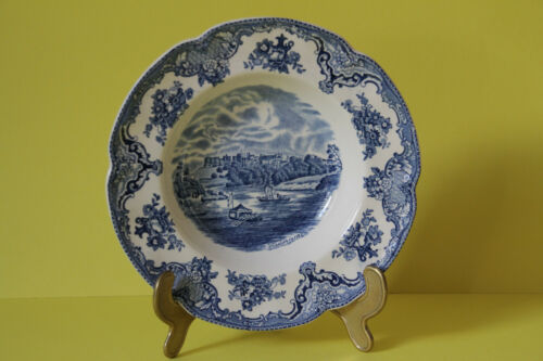 Johnson Bros Old Britain Castles Blau Suppenteller 22,3 cm