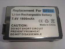 Batteria BP-315 per Canon HV10 MVX4i MVX4 Optura 600 IXY DVM5 DC51 DV-4iMC