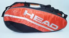 * Nuovo * Head Murray Monstercombi Borsa Tennis Bag Nero Rosso Djokovic Red PRO NEW
