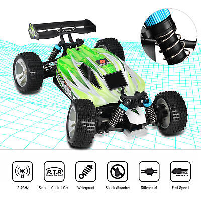 WLtoys A959-B 1:18 RC Car 4WD 2.4GHz Off Road 70KM//H Vehicle Racing for Kid V9I4