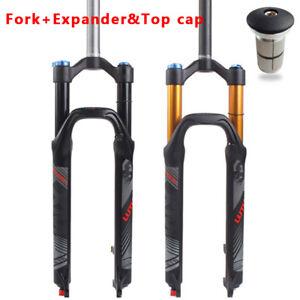 """UK KRSEC 26//27.5//29/"""" MTB Bike Suspension Fork Rebound Air Suspension Fork Disc"""