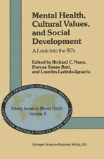 Mental Health, Cultural Values, and Social Development: A Look into the 80's (P