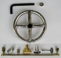 6 Stainless Steel Fire Pit Gas Burner Ring Kit Ss Elbow Natural Gas Fireglass