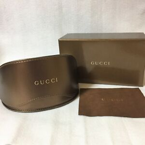 2a119f056aec Image is loading Auth-GUCCI-Sunglasses-Case-Original-Box-and-Cloth-