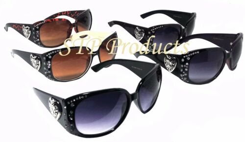 CE Women/'s Fashion Plastic Frame Sunglasses with Rhinestones 100/% UV Protection