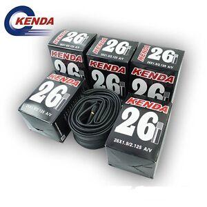 KENDA-MTB-26-27-5-29-x-1-9-2-125-Mountain-Bike-Bicycle-Inner-Tube-SV-AV