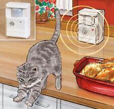 Cat Repeller Silent Ultrasonic Sound Scram training Motion Detector READ DESCRIP