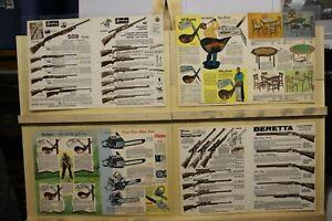 MCM-Vintage-Placemat-Set-Mossberg-Noble-Beretta-Wilson-Burke-Worthington-Clinton
