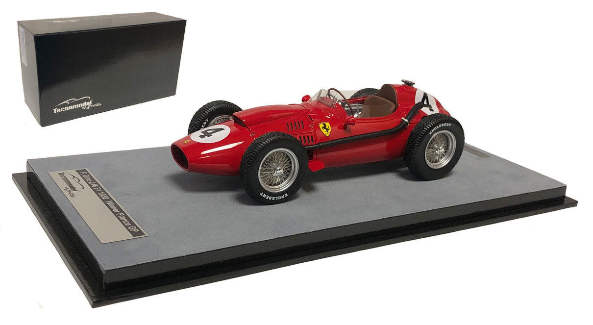 Tecnomodel Ferrari 246 France GP 1958 Mike Hawthorn World Champion - 1 18 Scale
