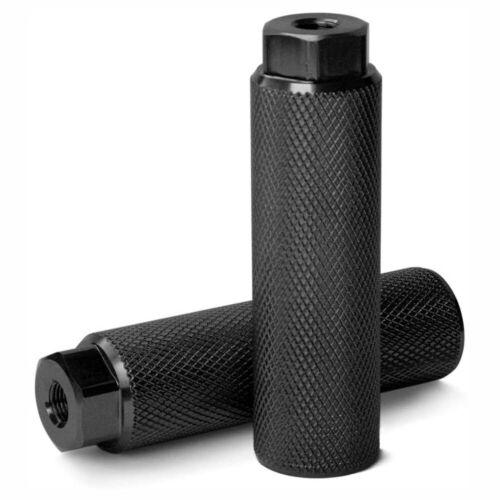 2pcs MTB BMX Bike Alloy Foot Stunt Pegs Footrest Lever Cylinder Grip 3//8/'/' Axle