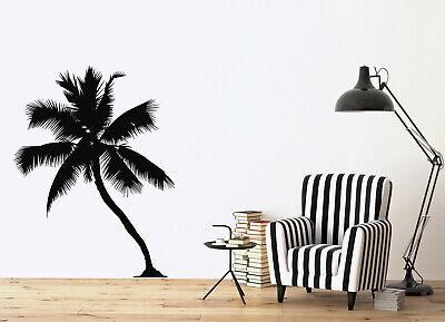 K1016 Palm Tree Heartbeat Lifeline Vacation Decal Sticker