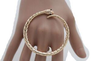 90cc4b885d42 La imagen se está cargando De-Mujer-Largo-Metal-Dorado -Fashion-Jewelry-Enorme-