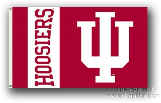 Indiana Hoosiers 023 3x5 Flag w/grommets Outdoor House Banner University of