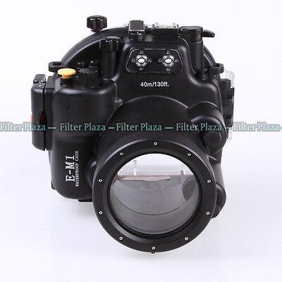 40M Underwater Waterproof Camera Housing Case for Olympus OM-D E-M1 12-40mm Lens