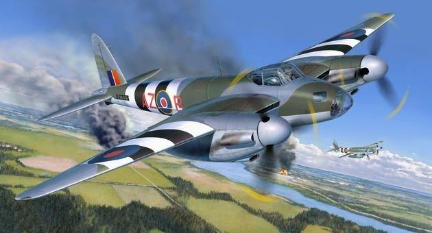 Revell 04758 - De Havilland Mosquito Mk.IV - Plastic Kit 1/32 Scale - T48 Post
