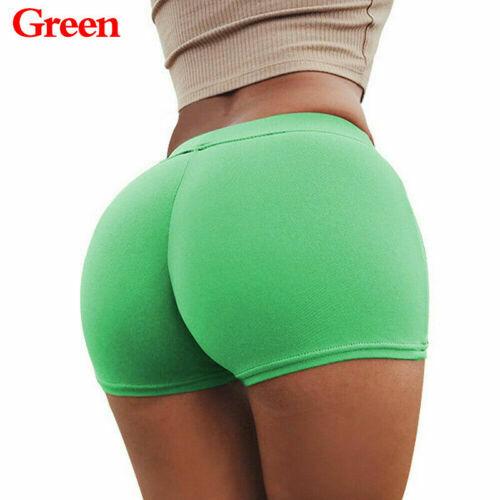 Pants Workout Gym Yoga Fashion Women Sports Skinny Waistband Shorts Summer