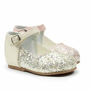 Girls Cream Shoes, Girls Pink Shoes