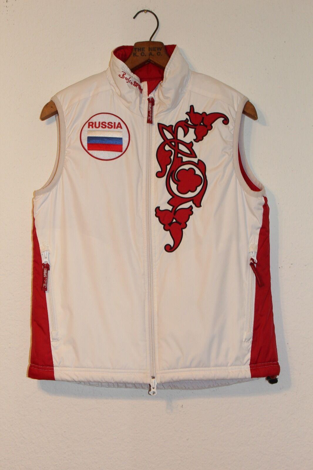 Bosco Sport Russian Olympic Team SKI VEST women's Small Perfect Condition
