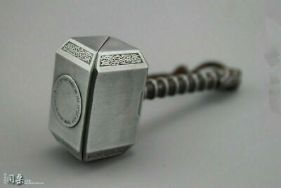 """Thor hammer Metal Weapon Props 1//6 Accessories F 12/"""" Action Figure Body Toys 8cm"""