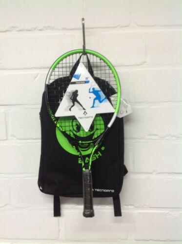 TecnoPro Kinder Tennisschläger+Rucksack BASH 19  288344-900 besaitet