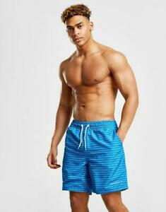 New-McKenzie-Men-s-Wren-Swim-Shorts-Blue