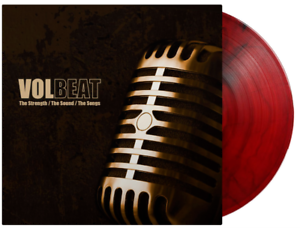 Volbeat -  The Strength / The Sound/ The Songs Red Black Smoke Marbled Vinyl LP