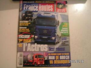 AgréAble **a France Routes N°255 Mercedes Actros 1846 / Man Tg-a 18-530 MatéRiaux Soigneusement SéLectionnéS