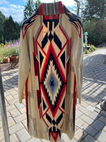 RARE Vintage Chimayo Navajo American Indian Coat J