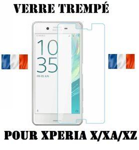 Vitre-Film-de-Protection-en-Verre-Trempe-incassable-pour-Sony-Xperia-X-XA-XZ
