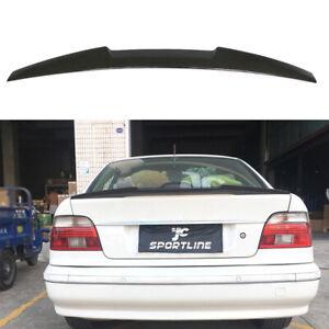 Kofferraumspoiler-Heckspoiler-Carbon-Fluegel-Lippe-fuer-BMW-5er-E39-Limo-1996-2003
