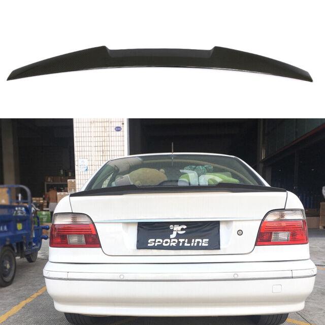 Kofferraumspoiler Heckspoiler Carbon Flügel Lippe für BMW 5er E39 Limo 1996-2003