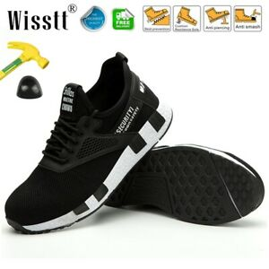 Mens-Safety-Extra-Wide-Work-Shoes-Steel-Toe-Ankle-Boots-Breathable-Mesh-Sneakers