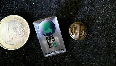 Symbol Der Marke Man Bus Of The Year 2015 Pin Badge Lions City