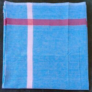 Green Check Cotton Lightweight Indian Bath Beach Travel Towel Gamcha Wrap