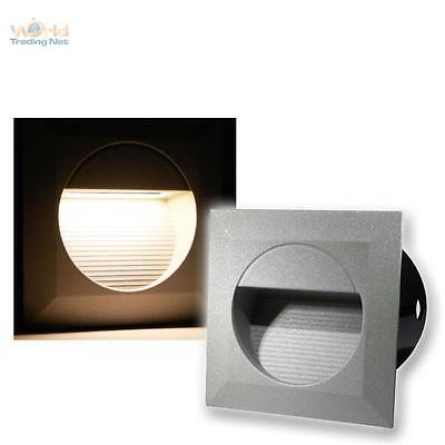 LED Lámpara empotrable de pared Luz escalera Iluminación Exterior /